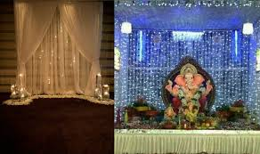 ganesh chaturthi 2016 simple yet insanely beautiful decoration