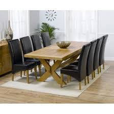 dining table 8 chairs dining table 8 chair oak dining table