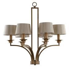 safavieh mindy craftsman 6 light antique gold pendant chandelier