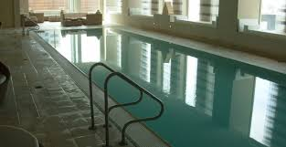 residential indoor lap pool. Indoor Lap Pool With Rimflo Edge At St Regis Hotel In SF Residential H