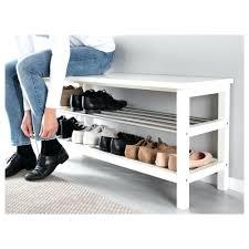 ikea shoe cabinet bissa birch black hemnes hack