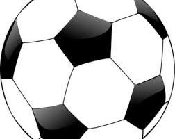 Soccer Ball Pattern Beauteous Soccer Chart Etsy