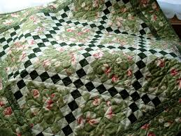 Floral Irish Chain PDF Quilt Pattern beginner quilters Quick & 🔎zoom Adamdwight.com