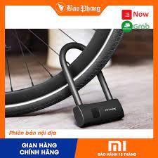 Khóa Xe Máy Vân Tay Thông Minh Xiaomi AREOX U8 - Khoá chữ U chống cắt an  toàn điện tử thông minh xe đạp khoá cửa - Ổ khóa