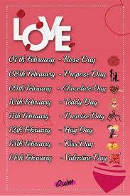 week 2020 list february special days