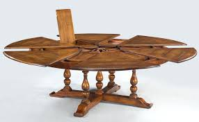 walnut round extending dining table extra large solid walnut expandable round dining table seats walnut extending