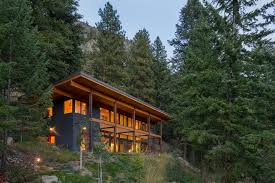 Small Picture Cabin Natural Modern Mountain Cabin Design