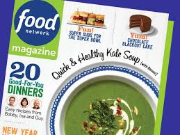 food network magazine 2015. Interesting Network Food Network Magazine JanuaryFebruary 2015 Recipe Index Inside Magazine T