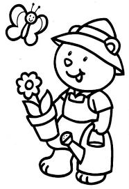34 Dessins De Coloriage Jardinier Imprimer Sur Laguerche Com