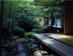 japanese garden lighting. Japanese Deck And Garden Lighting