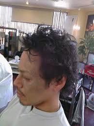 パーマの メンズ ヘア スタイル 見本サンプル髪型 メンズ パーマの