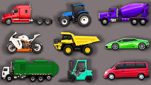 toy cars and trucks. Cars And Trucks. Learning Street Vehicles For Kids. Transport: Garbage Truck, Dump Tractor. DASIKADUMA TOYS SHOW Toy Trucks N