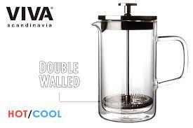 viva scandinavia double wall french press 500 ml ビバスカンジナビア