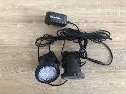 3 Đèn 36 Đèn LED Màu Sắc Tạo Cảnh Quan Ốp Nổi Nước Cỏ + Điều Khiển Từ Xa 16  Màu Cho Bể Cá Cá bể Bơi|Lightings