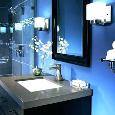 grey bathroom decor teal and gray decorating ideas blue vanity with walls