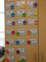 Classroom Jobs Very Detailed Listing Including Fun Names