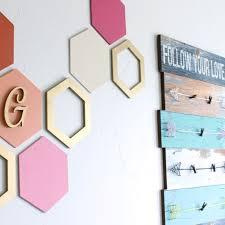 wall hexagon decor craftcuts com