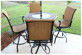 patio amusing high top table outdoor bar and chairs furniture tables tall an