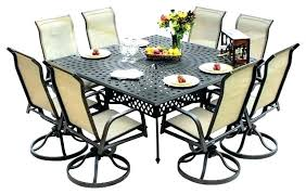 8 person patio dining set person patio table person patio table 8 person outdoor dining table