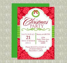 Party Invitation Template Word Free Diy Do It Yourself Christmas Party Invitation Editable