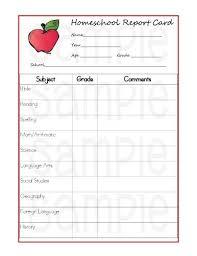 School Report Card Format Printable Report Cards Under Fontanacountryinn Com