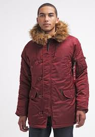 alpha industries winter jacket burdy men clothing jackets