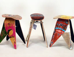 recycled furniture design. recycled skateboard furniture by deckstool design