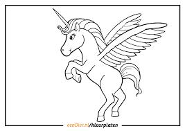 Kleurplaten Unicorn Clarinsbaybloorblogspotcom