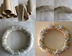 Having trouble finding a (cheap) wreath...DIY Wreath form; made
