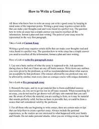 write good essay Topic  How to Write a Good Essay How to Write a Good