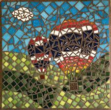 Simple Mosaic Art Designs Beginner Mosaic Artwork How To Mosaic