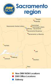 dmv map. Exellent Dmv Map Of The Sacramento Region SST Locations With Dmv F