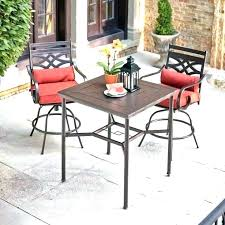 bar height outdoor bistro table counter height outdoor table bistro set medium size of patio furniture
