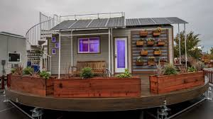 Small House On Wheels Fully Functional Off Grid Home On Wheels With Solar Panel Small
