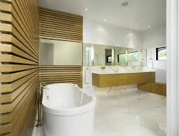 Modern Bathroom Wood Bathroom Style With Durable Design Throughout ...