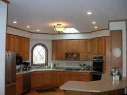 Kitchen Ceiling Lights Fluorescent Flush Fluorescent Kitchen Ceiling Lights Rubbed Bronze Three