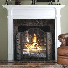 gas fireplace safety screen home depot screens image wood surrounds