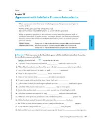 Pronoun Antecedent Agreement 9 Pronoun Antecedent Examples Pdf Examples