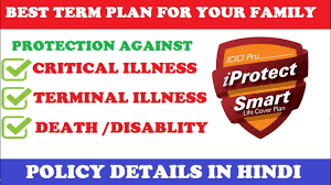 But, if the individual survives, they would not get anything. Icici Pru Iprotect Smart Term Insurance Plan Review Hindi Youtube
