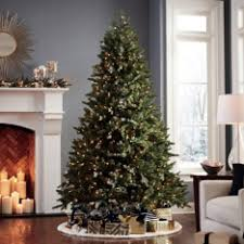 Red Ashley Prelit Christmas Tree By Sterling Tree Company  Bring Sale On Artificial Prelit Christmas Trees