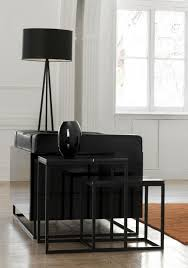 black or white furniture. View Larger Gallery Prairie, A Nest Of 2 Tables With Black Marble Tops And Steel Legs Or White Furniture