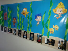 >56 best landen s 3rd b day bubble guppies images on pinterest  bubble guppies wall back drop