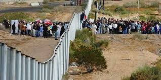 Image result for picture of U.S. border invasion