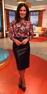 popular presenter susanna reid was inundated with compliments by male admirers when she appeared on