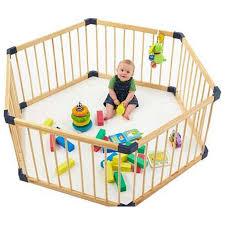 kidzco s baby playpen 8 panel safety play center yard home indoor outdoor pen