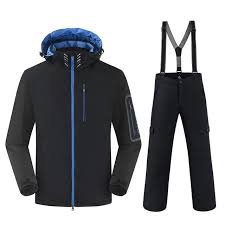30 Degree Warm Snowboarding Suits <b>Men Winter Ski Suit Male</b> ...