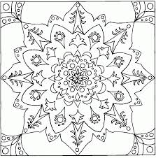 Printable Coloring Pages geometric shape coloring pages : Free Printable Geometric Design Coloring Pages - Coloring Home