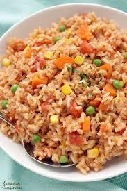 spanish rice.  Rice Arroz Rojo To Spanish Rice I
