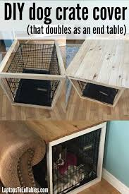 How to make a dog crate Pet Kennel Dog Crate Cover Invisible Ink Diy Dog Crate Cover Iseeidoimake