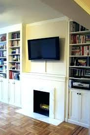flat screen fireplace mounting above hiding wires best image electric panel heater reviews